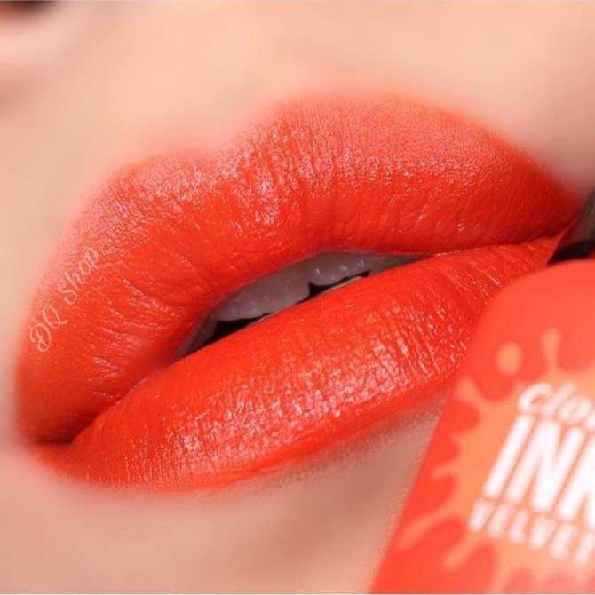 ⭐️⭐️⭐️KHUYẾN MÃI TẶNG QUÀ: Son Peripera Peri's Ink Velvet #03 Inkrush Orange