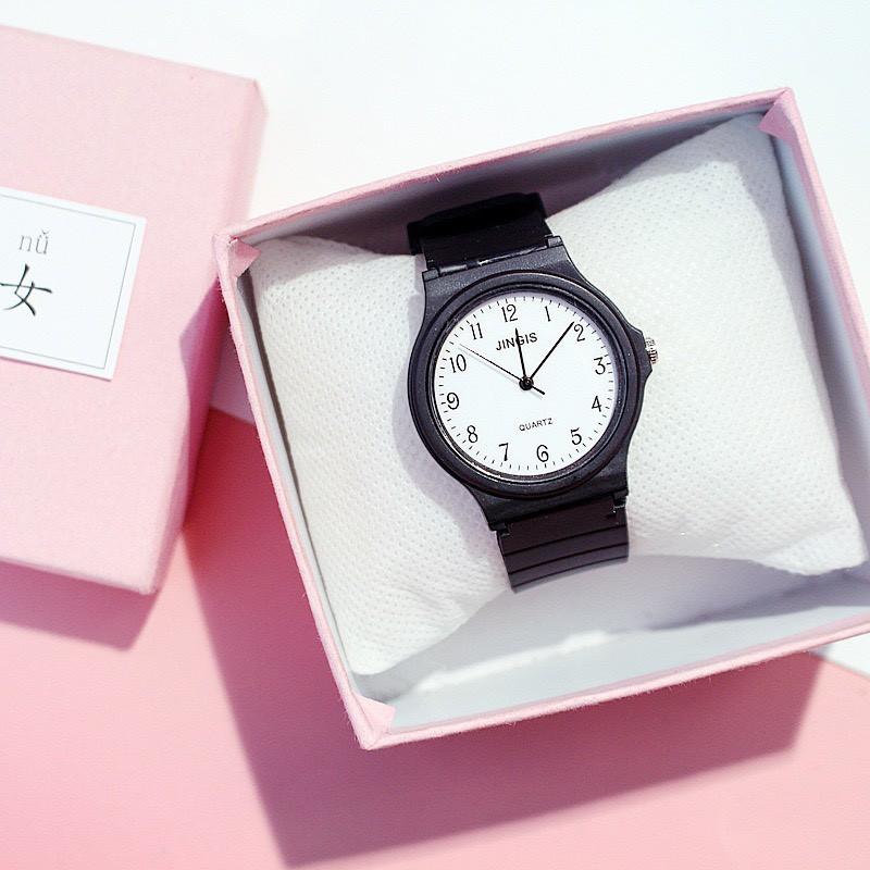 Đồng hồ nam nữ JINGIS thời trang phong cách Hàn Quốc DH83