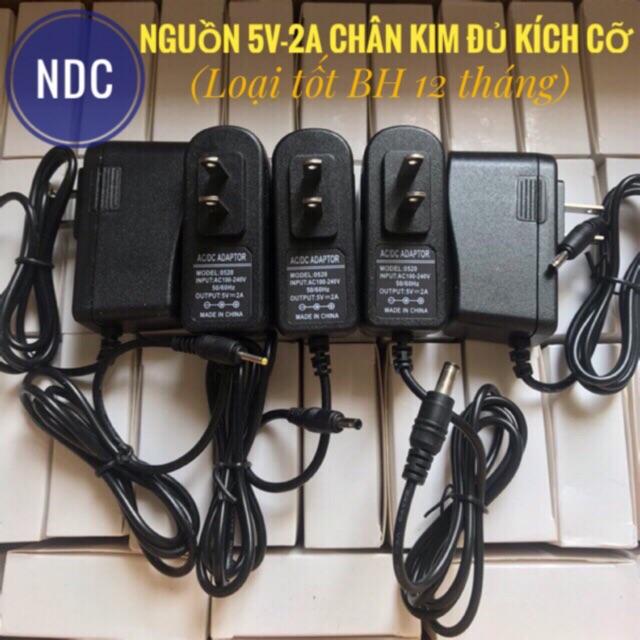 Nguồn 5V-2A Chân Kim Dùng Cho TV Box, Camera IP, Máy chấm công, Máy tính bảng