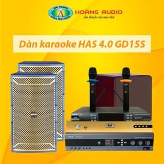 Bộ dàn karaoke gia đình HAS 4.0 GD15S thumbnail
