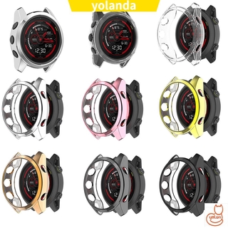 ☆YOLA☆ New Case Cover Bumper Frame Protective TPU Shell Smart Watch Protector Plating/Multicolor