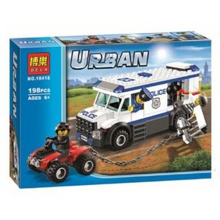 Đồ Chơi Lego Xếp Hình Siêu Xe Cảnh Sắt Bắt Cướp. Lego Đồ Chơi Lắp Ráp cho bé Trai Thông Minh. 2 Mã Cho khách chọn