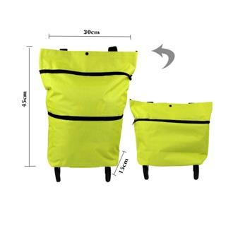 Túi đi chợ đa năng, có bánh xe chắc chắn – hàng có sẵn 15/2020