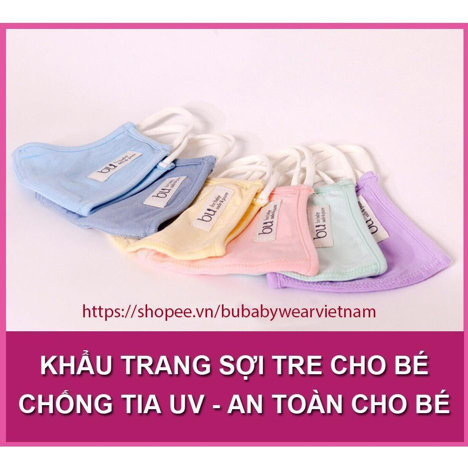 SET 2 Chiếc Khẩu Trang Sợi Tre BU (Chống Tia UV) An Toàn Cho Bé - 21922291 , 2325455770 , 322_2325455770 , 93000 , SET-2-Chiec-Khau-Trang-Soi-Tre-BU-Chong-Tia-UV-An-Toan-Cho-Be-322_2325455770 , shopee.vn , SET 2 Chiếc Khẩu Trang Sợi Tre BU (Chống Tia UV) An Toàn Cho Bé