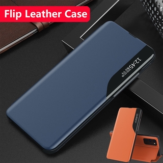 Samsung Galaxy S7 EDGE S8 S9 S10 PLUS s8+ S9+ Matte Leather Flip Phone Case Magnetic Intelligent Window Smart View Wake Sleep Up Bracket Cases Shockproof Casing Back Cover For Samsung S10 Plus S9Plus S8Plus Protection Shell