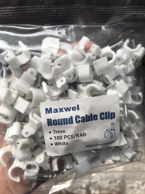 Đinh đóng giữ dây mạng,dây điện,dây cáp,dây camera đầy đủ kích cỡ