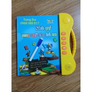 Sách quý song ngữ điện tử anh việt cho trẻ em – chính hãng