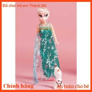 Búp bê công chúa Elsa và người Tuyết, Búp Bê Công chúa chất liệu nhựa cao cấp, bền, đẹp, chất vải an toàn - W070422 thumbnail