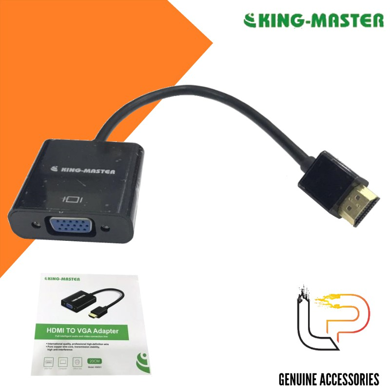 CÁP CHUYỂN HDMI RA VGA KINGMASTER KM001