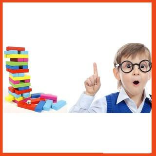[HOT SALE] Đồ chơi gỗ – domino màu 54 thanh cho bé