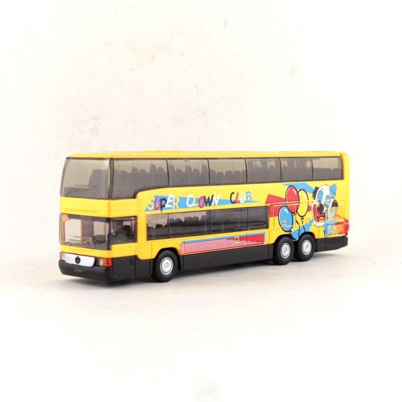 Mô Hình Xe Buýt Benz Mb 0 404 Dd Tỉ Lệ 1: 64 Bằng Hợp Kim