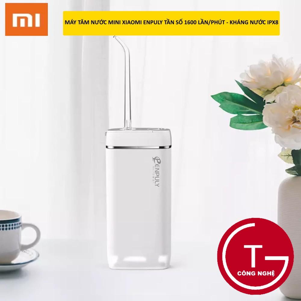 [Hàng mới về]Máy tăm nước Xiaomi ENPULY mini công suất mạnh mẽ, tần số cao kháng nước IPX8 thuận tiện đi du lịch