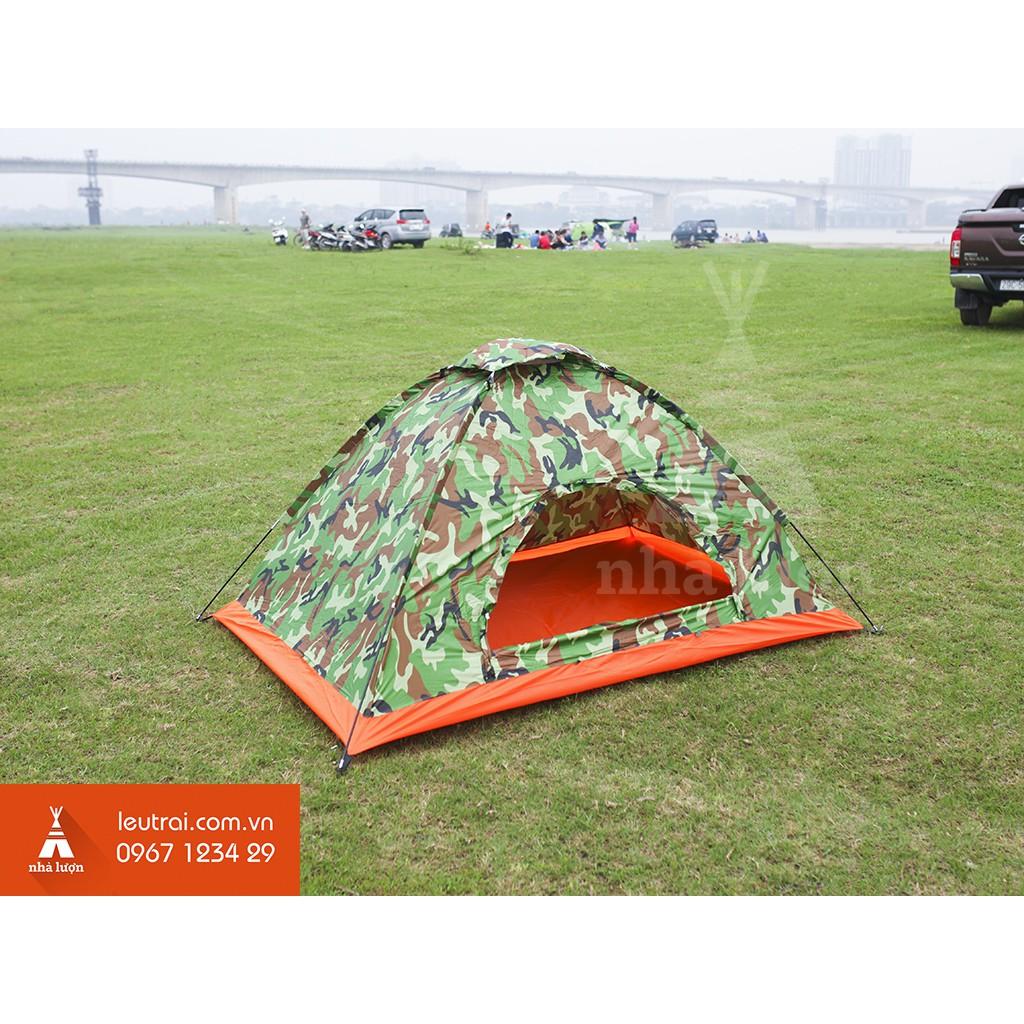 Lều cắm trại 2 người rằn ri - Leutrai.com.vn