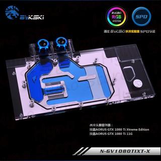 Block VGA Giga 1080Ti Xtreme Edition Tản nhiệt nước custom - Hyno Store thumbnail