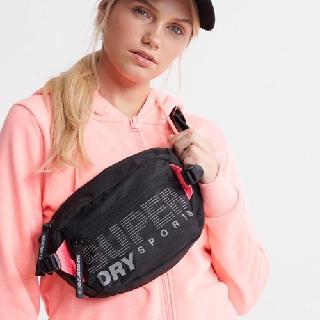 Túi bao tử Su.per.dry Sport Bag [kèm ảnh thật - bảo hành trọn đời khóa kéo]- chống nước tốt - full nametag - tiện dụng thumbnail