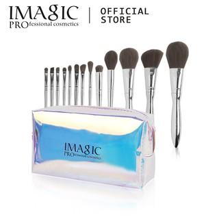 Bộ 13 cọ trang điểm IMAGIC chuyên dụng kèm túi đựng mỹ phẩm