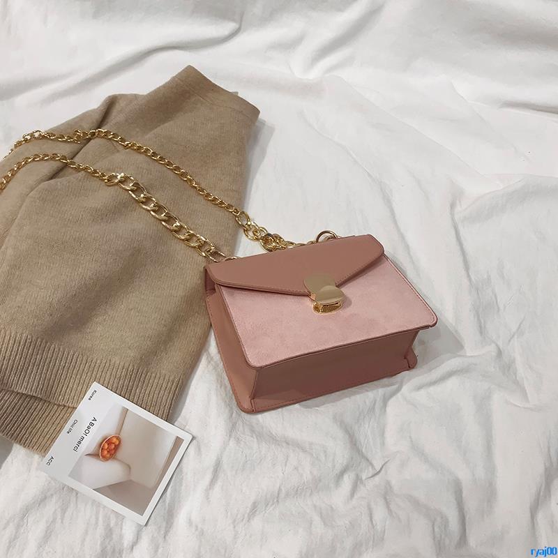 Full order250000shipmentsChic port wind small bag female 2018 new fashion retro matte small square bag wild chain should