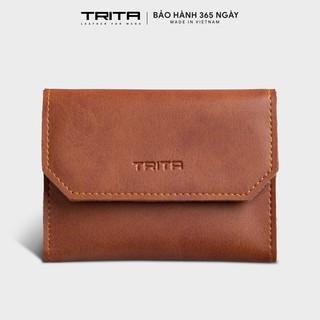 Ví mini TRITA RVN06, 6 ngăn, đựng vừa 3 thẻ card và tiền, phù hợp đi chơi, đi làm, da tổng hợp cao cấp , bảo hành 1 năm