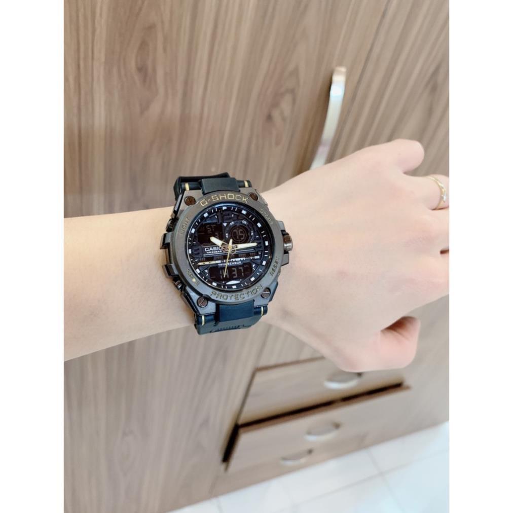 Đồng hồ nam Casio G-shock  GTS 8600 Original _Chống nước 20Bar Viền Thép không gỉ, Nam tính, 45mm _ Lux.watch