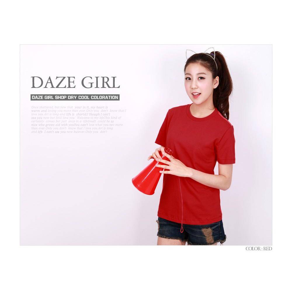 Áo đỏ trơn nữ cá tính mềm mượt ( EVEREST)
