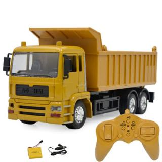 Light Music Remote Control Engineering Vehicle Remote Control Dump Truck