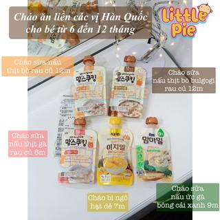 Cháo ăn liền Hàn quốc cho bé đi du lịch từ 6-12 tháng