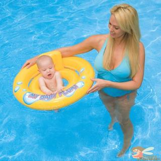♥AN☻-Infant Kids Toddler Swimming Seat Swimming Pool Float Ring Bad Absorption Help Water