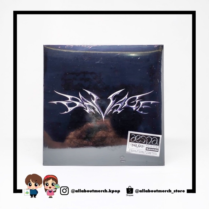 Album AESPA - SAVAGE (SYNK DIVE VER)