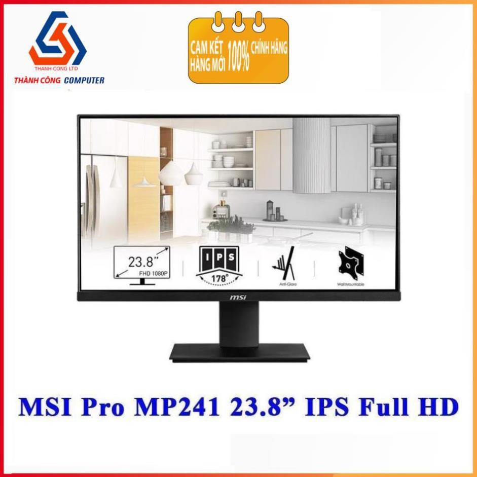 """MÀN HÌNH MSI PRO MP241 23.8"""" IPS FULL HD"""