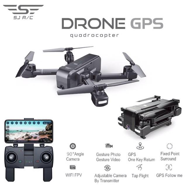 [Ver2] flycam z5 bản pin 1500 mah bay 20p camera FHD xa 600m có gps tự bay về