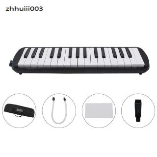 1 set 32 Key Piano Style Melodica With Box Organ Accordion Mouth Piece Blow Key Board