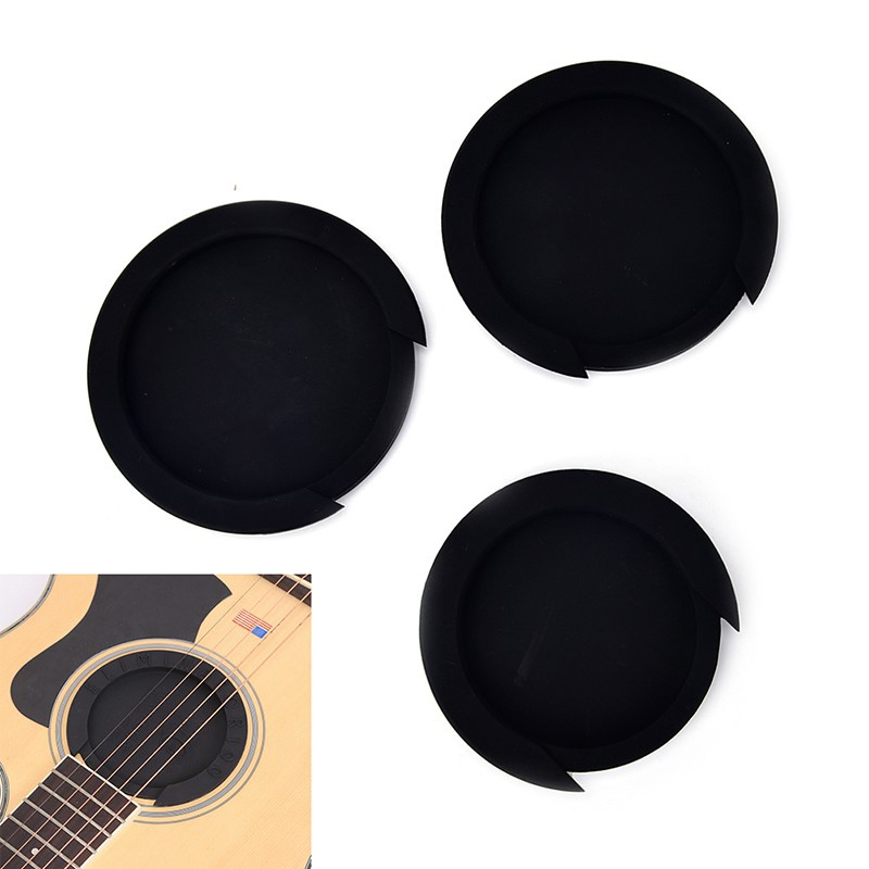 Silicone Guitar Feedback Buster Soundhole Cover Sound Buffer Hole Protecto