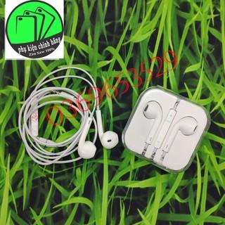 Tai nghe bóc máy Jack 3.5mm Iphone 6,6S, Tặng kèm cáp sạc xuất UK