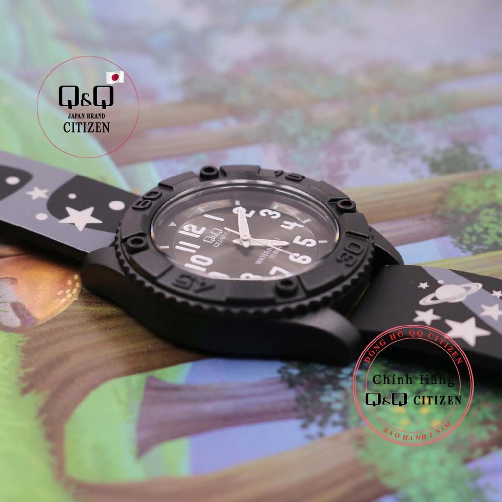Đồng hồ trẻ em Q&Q Citizen VQ96Jdây nhựa thương hiệu Nhật Bản