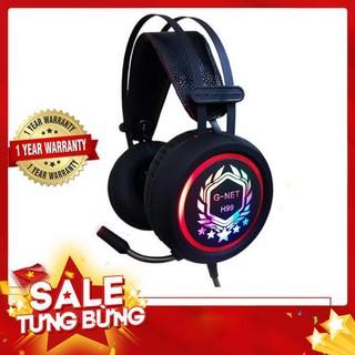 Tai nghe Gaming G-Net H99 Led nhiều màu I Head phone GNET H99 RGB LED – Hàng nhập khẩu