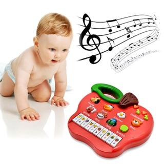 Đàn điện tử phát nhạc và tiếng động vật vui nhộn cho bé