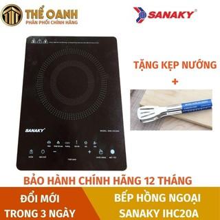 Bếp hồng ngoại [FREESHIP] Bếp từ hồng ngoại cảm ứng Sanaky IHC20A dùng mọi loại nồi thumbnail