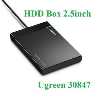 [Mã ELFLASH5 giảm 20K đơn 50K] Hộp đựng ổ cứng HDD BOX 2,5 inch USB 3.0 chính hãng Ugreen 30847 cao cấp