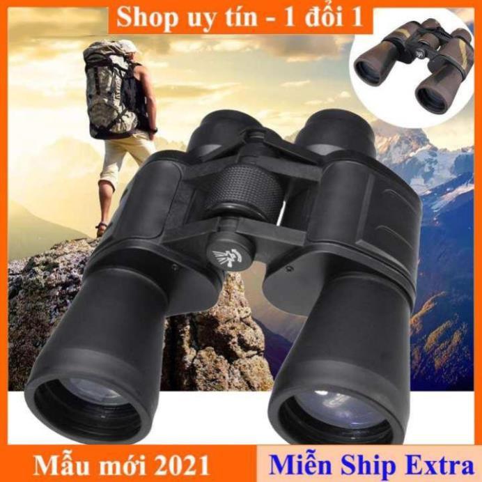 [ Xả kho tết] Ống nhòm du lịch 2 mắt BINOCULARS 20x50  - Panda 2 mắt -  Điều Chỉnh Lấy Nét Ở Trung Tâm Trên Cả 2 Mắt
