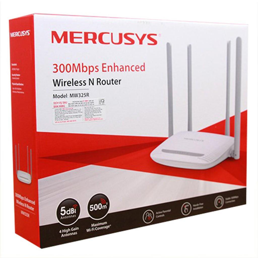 Bộ Phát Wifi Không Dây Mercusys MW325R 300Mbps