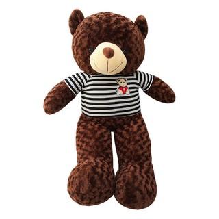 Gấu bông Teddy Cao Cấp khổ vải 1m Cao 80m màu Nâu hàng VNXK- Quà Tặng Tình Yêu