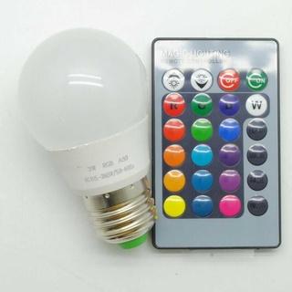 Bóng đèn Led E27 3W – B2 WB STORE RGB điều khiển từ xa