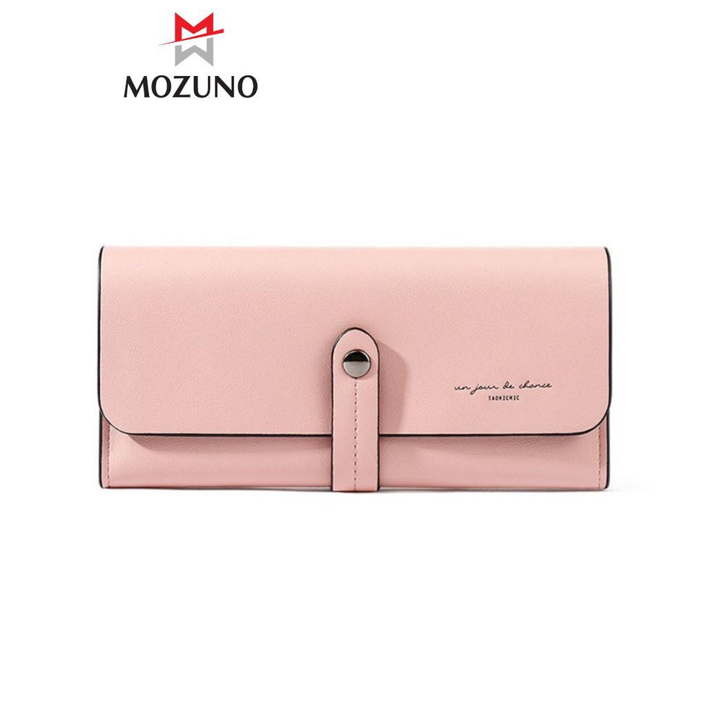 Ví Bóp Nữ Dài Cầm Tay Cao Cấp Chính Hãng TAOMICMIC Đựng Tiền Đựng Thẻ Trẻ Trung Siêu Đẹp TM02 - Mozuno