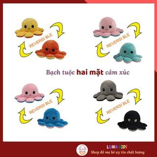 Đồ Chơi Nhồi Bông Bạch Tuộc Hai Mặt Cảm Xúc LUNA Kid s Nhiều Màu Đáng Yêu Size 10x20 CM thumbnail