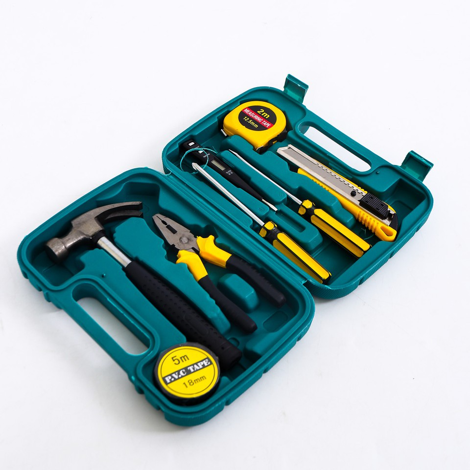 Hộp dụng cụ 9 kiện -AL - 9958965 , 276680526 , 322_276680526 , 150000 , Hop-dung-cu-9-kien-AL-322_276680526 , shopee.vn , Hộp dụng cụ 9 kiện -AL