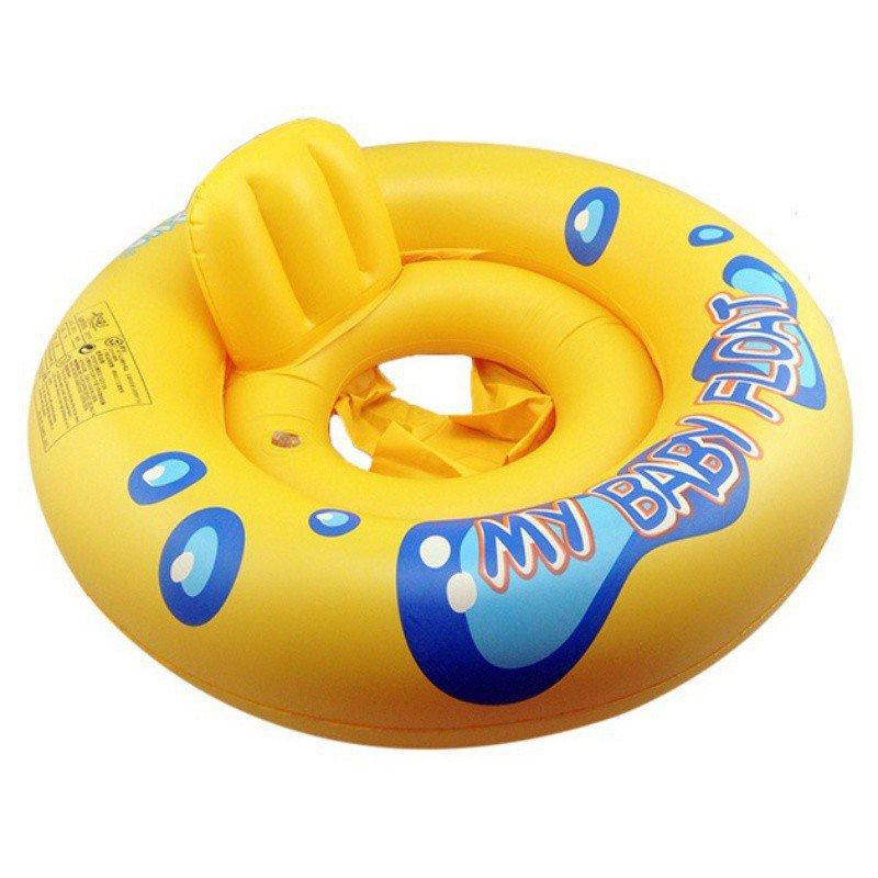 Phao bơi nổi thiết kế tựa lưng đảm bảo an toàn cho bé