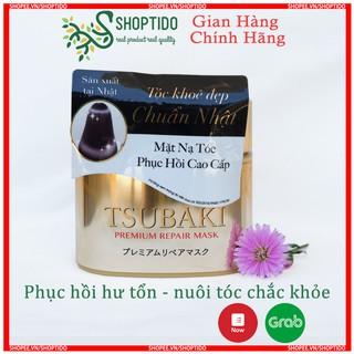 Mặt Nạ Tóc Cao Cấp Phục Hồi Hư Tổn TSUBAKI PREMIUM REPAIR MASK (180g) hàng chính hãng Shoptido phân phối