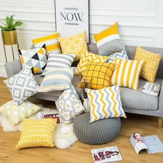 Vỏ gối tựa lưng sofa, vỏ gối tựa mẫu mới nhất 2021 vuông 45x45cm, chất liệu Nhung