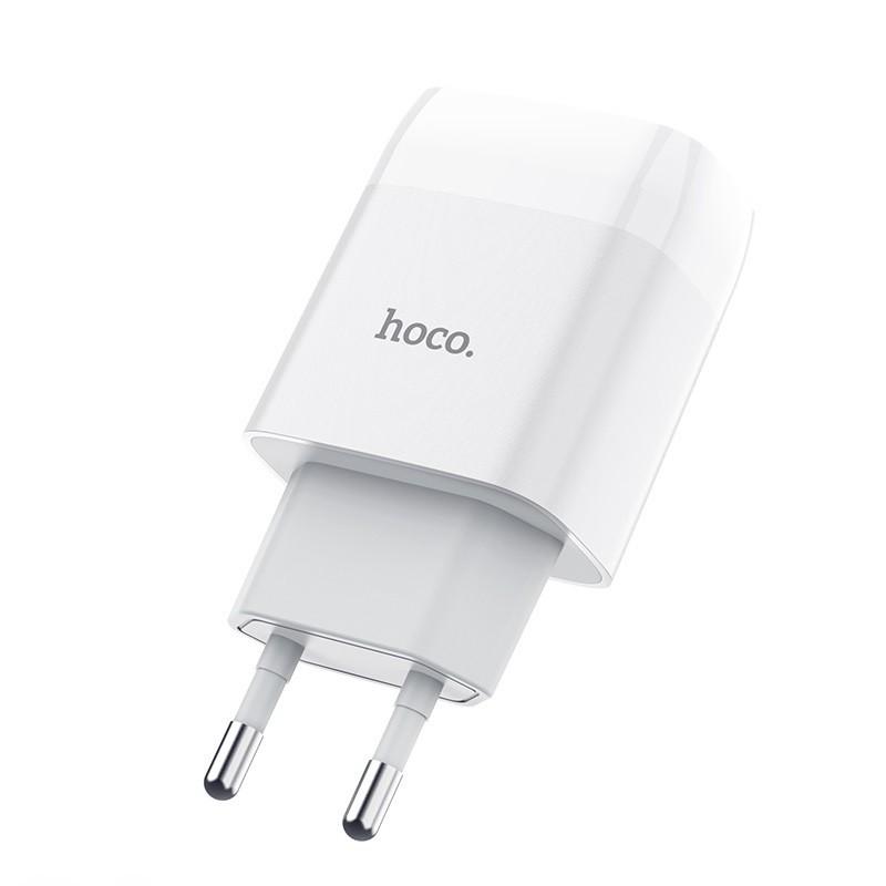 Củ cốc sạc Hoco C72A đầu ra 2.1A 1 cổng USB cao cấp chính hãng - Minh Tín Shop