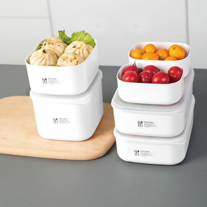 Hộp đựng thực phẩm tủ lạnh, hộp bảo quản thức ăn giữ nhiệt tiện ích dành cho mọi gia đình